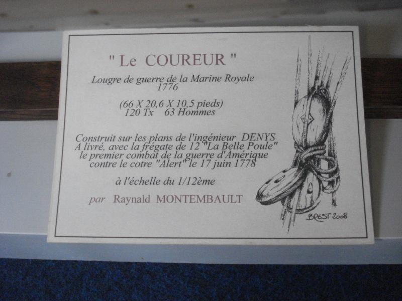 """""""Le COUREUR"""" à voir du côté de Saint-Malo 01313"""