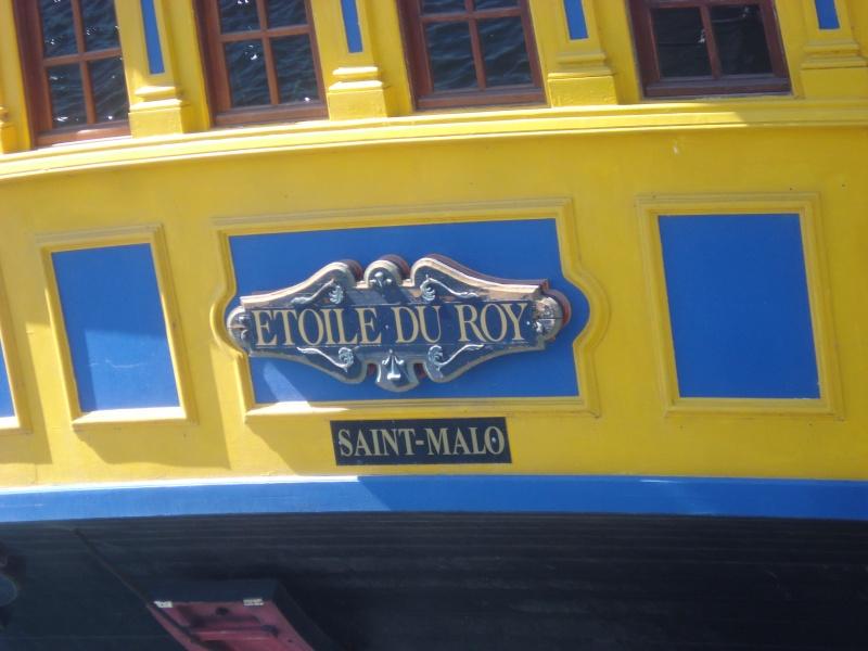 etoile du roy - L'ETOILE DU ROY ex GRAND TURK à quai à SAINT MALO - Page 2 Dsc02559