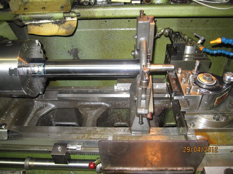 Presse hydraulique d'atelier motorisée Img_2921
