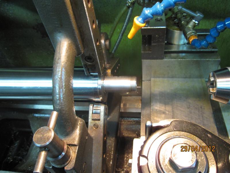 Presse hydraulique d'atelier motorisée Img_2922