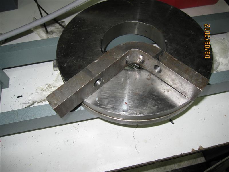Presse hydraulique d'atelier motorisée Img_3112