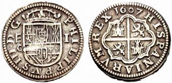 Réal de Philippe II d'Espagne (1516-1598) 1_real11