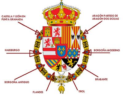 Liard de Namur pour Philippe V (Pays-Bas espagnols) 1709 ou 1710 Armas_10