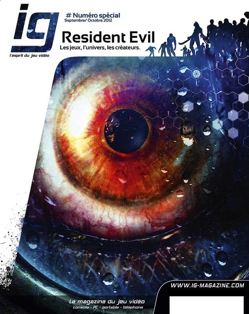 IG Magazine spécial Resident Evil 77457210