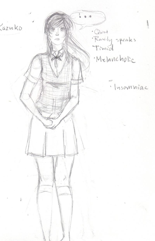 SetsukoNarita's Art Kazuko11
