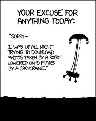 MSL : comment avez-vous vécu l'atterrissage ? Curios10