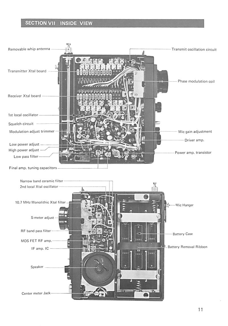 Icom IC-215 (Portable (Vintage) 1111