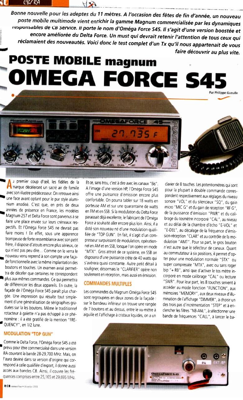 Magnum OmegaForce S45 HP (Mobile) 128-210
