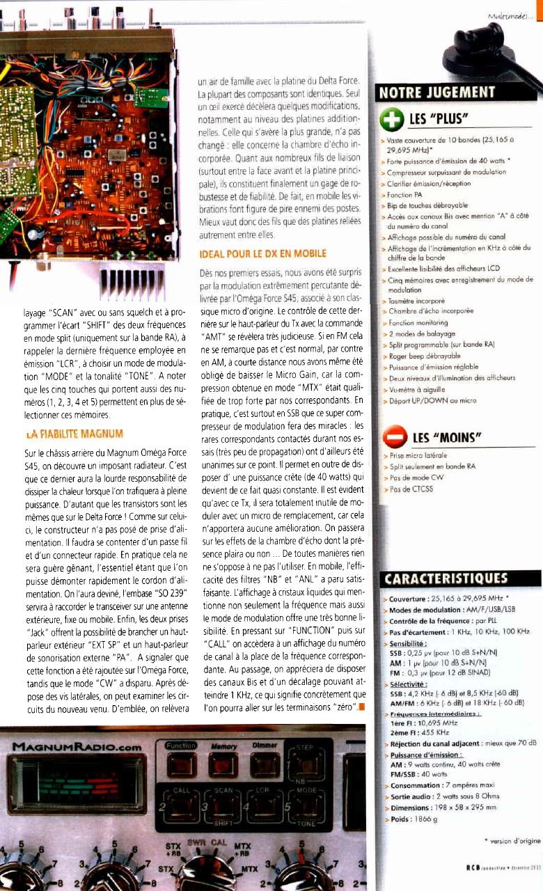 Magnum OmegaForce S45 HP (Mobile) 128-310