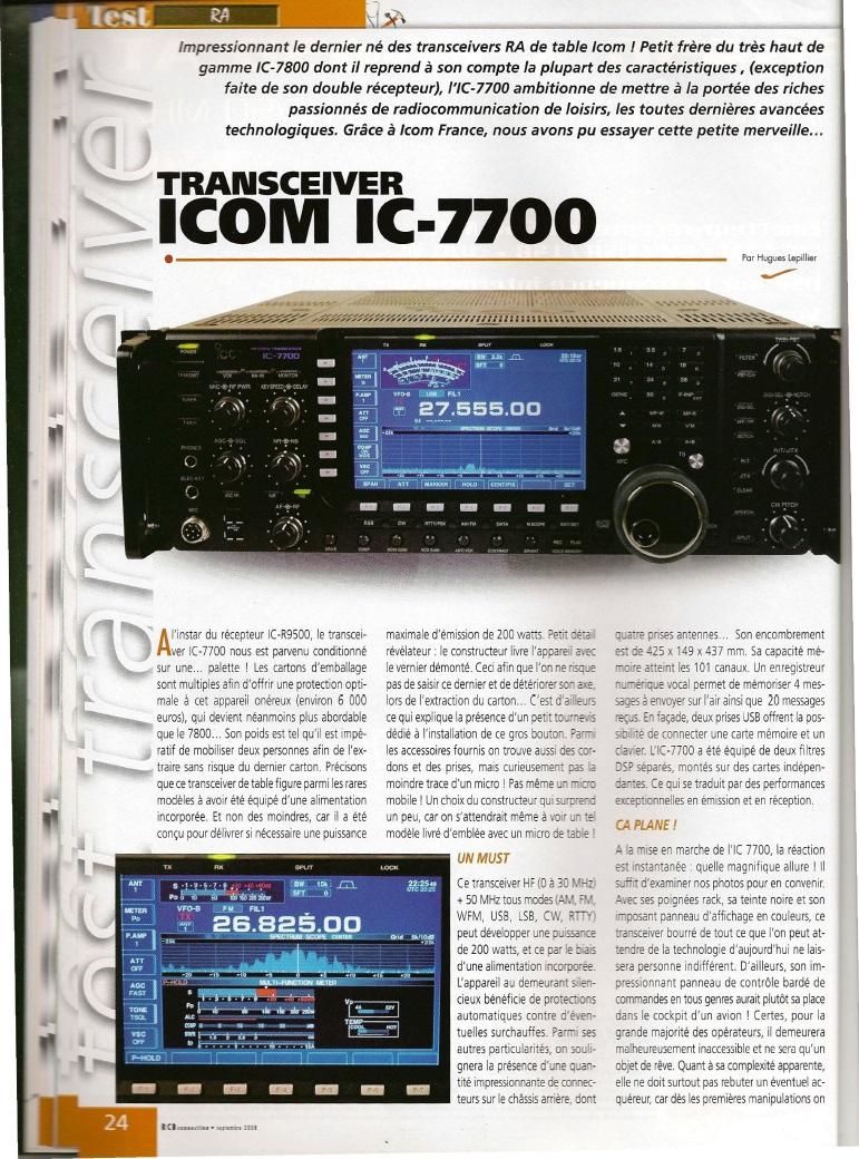 Icom IC-7700 180-610