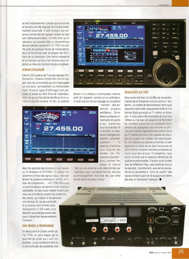 Icom IC-7700 180-710