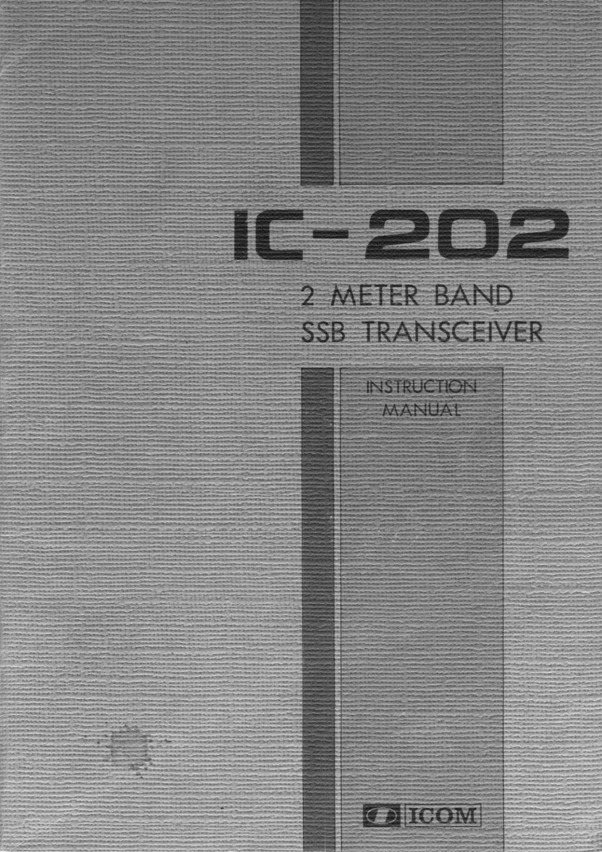 Icom IC-202E (Portable (Vintage) 202_m012
