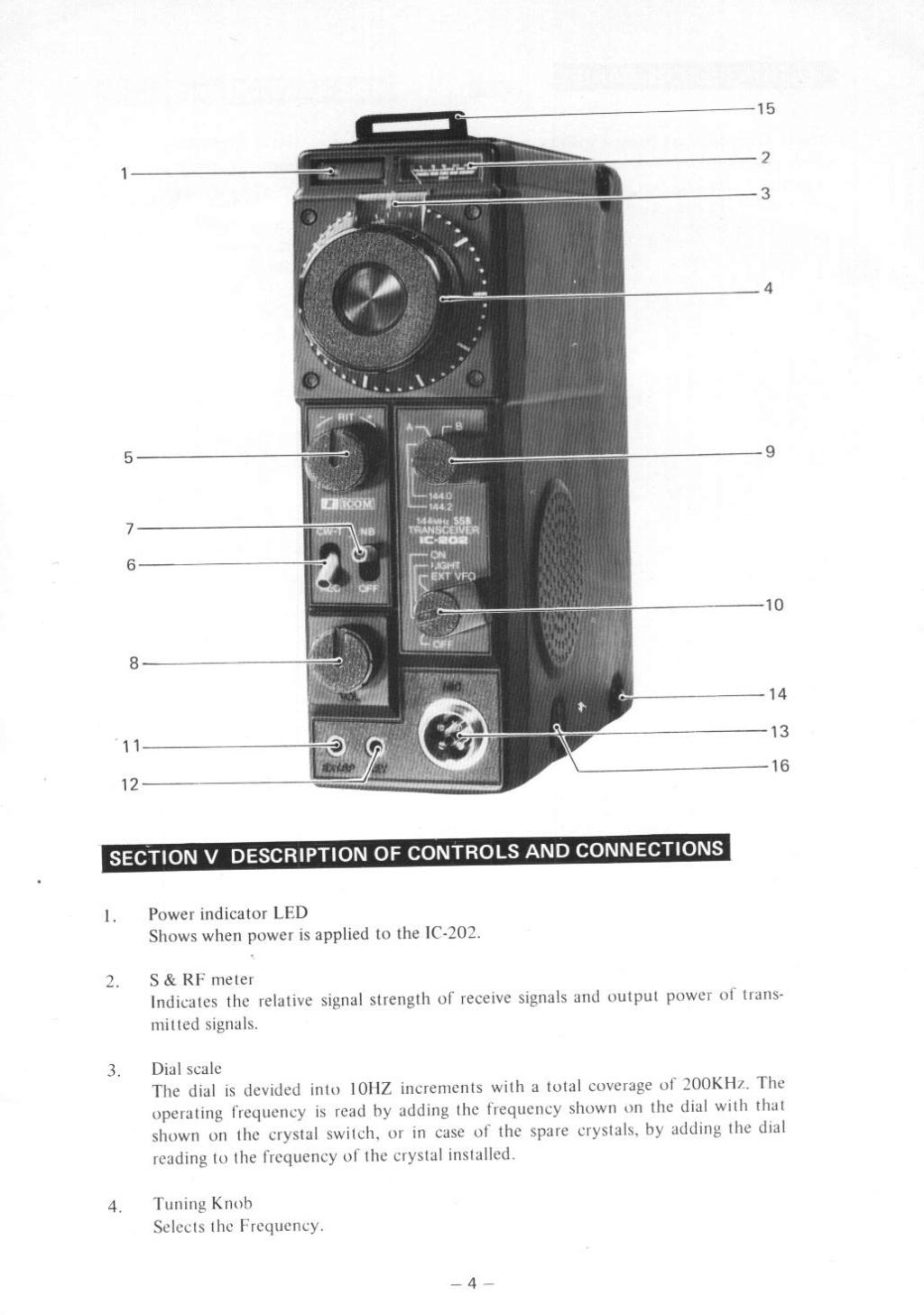 Icom IC-202E (Portable (Vintage) 202_m013
