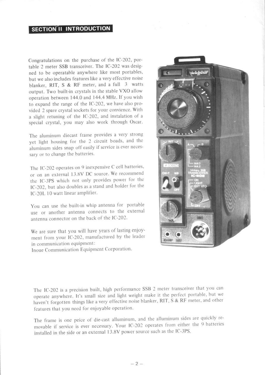 Icom IC-202E (Portable (Vintage) 202_m015