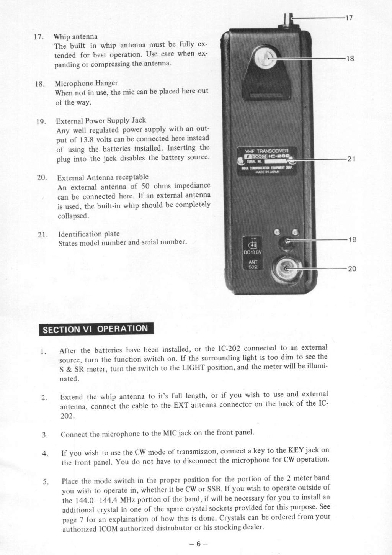 Icom IC-202E (Portable (Vintage) 202_m018