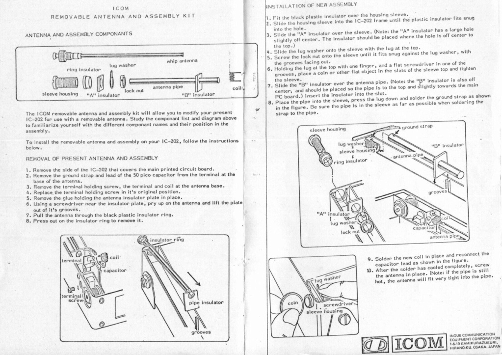 Icom IC-202E (Portable (Vintage) Antenn10