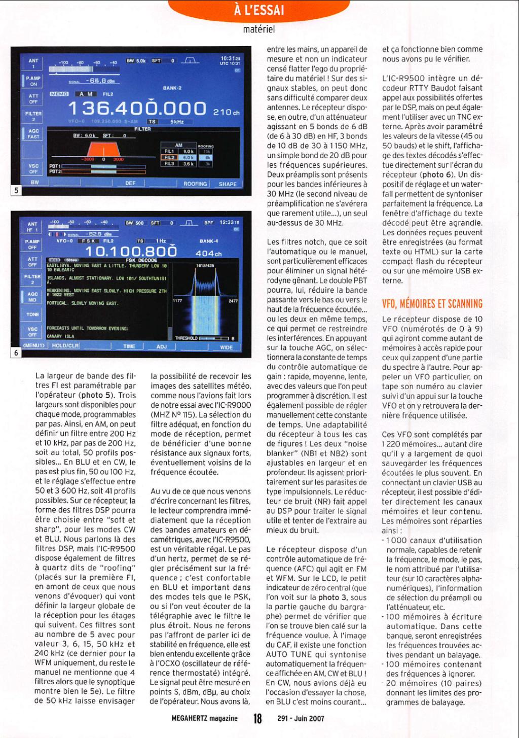 Icom IC-R9500-02 Captu100