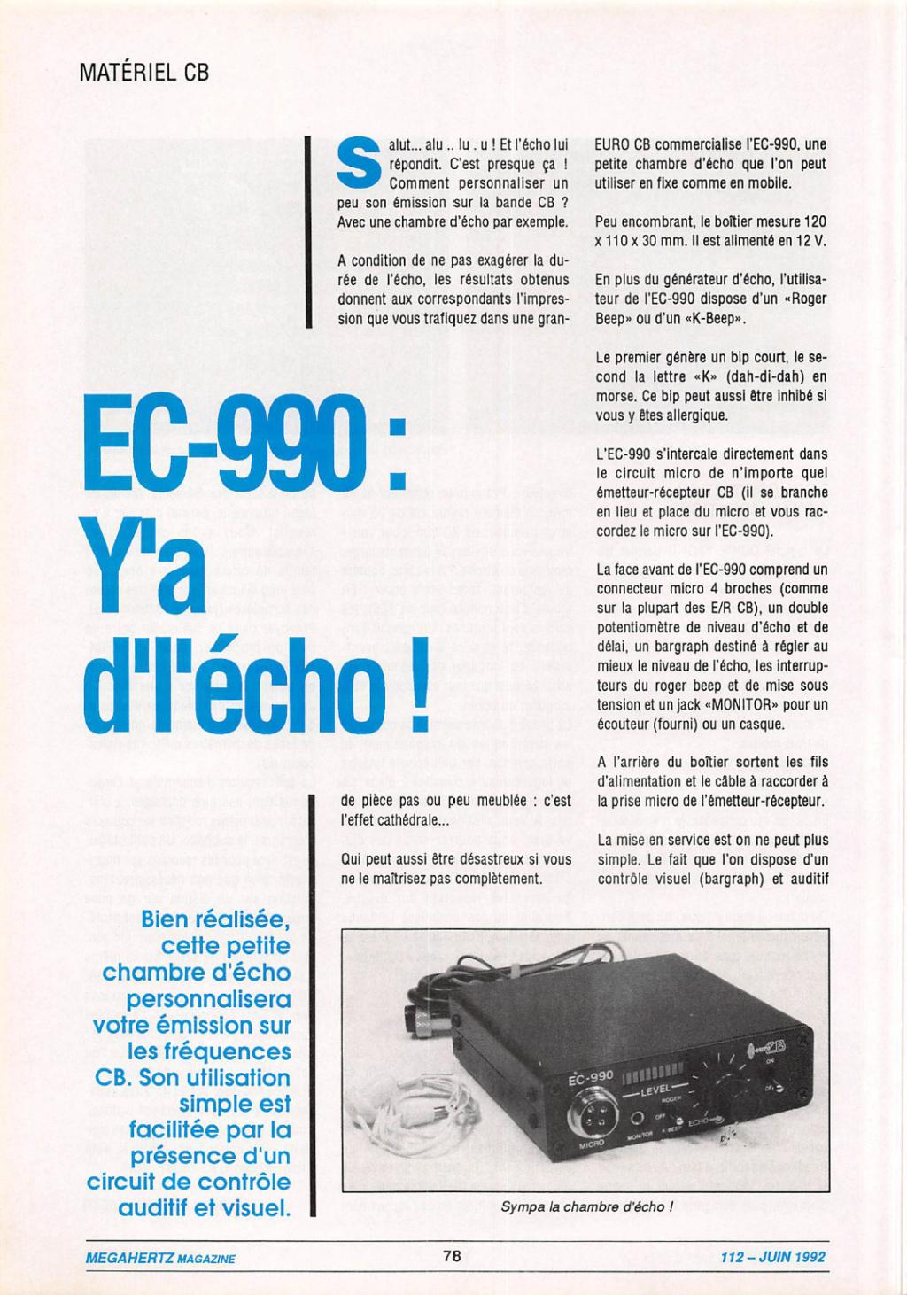 EuroCB - EuroCB EC-990P - EC-990 (Chambre d'écho) Captu200