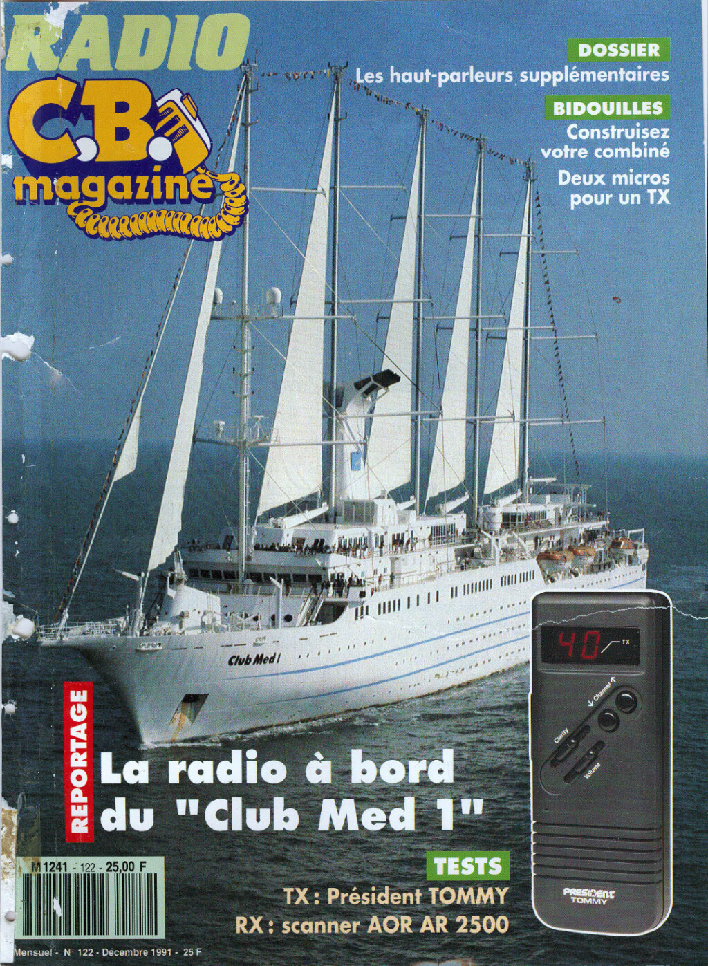 C.B. Magazine - Radio C.B. Magazine (Magazine (Fr.) - Page 12 Captu285