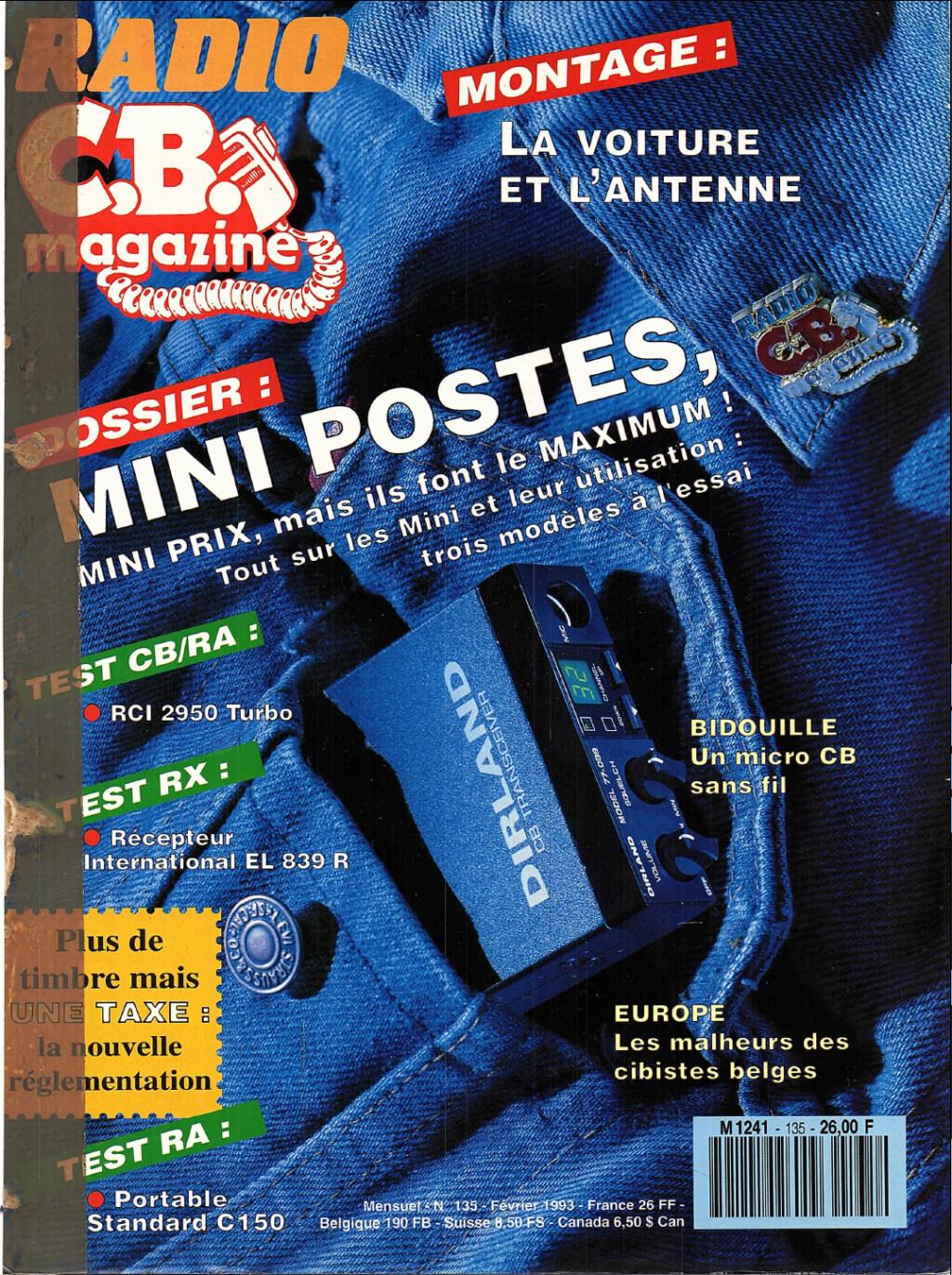 C.B. Magazine - Radio C.B. Magazine (Magazine (Fr.) - Page 13 Captu288