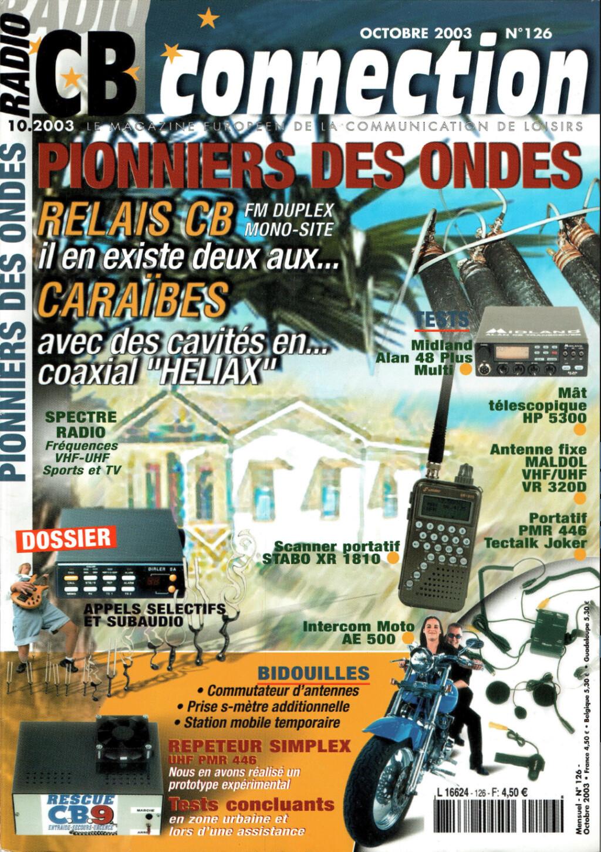RadioCBconnection - Radio connection (Magazine (Fr.) Captu303