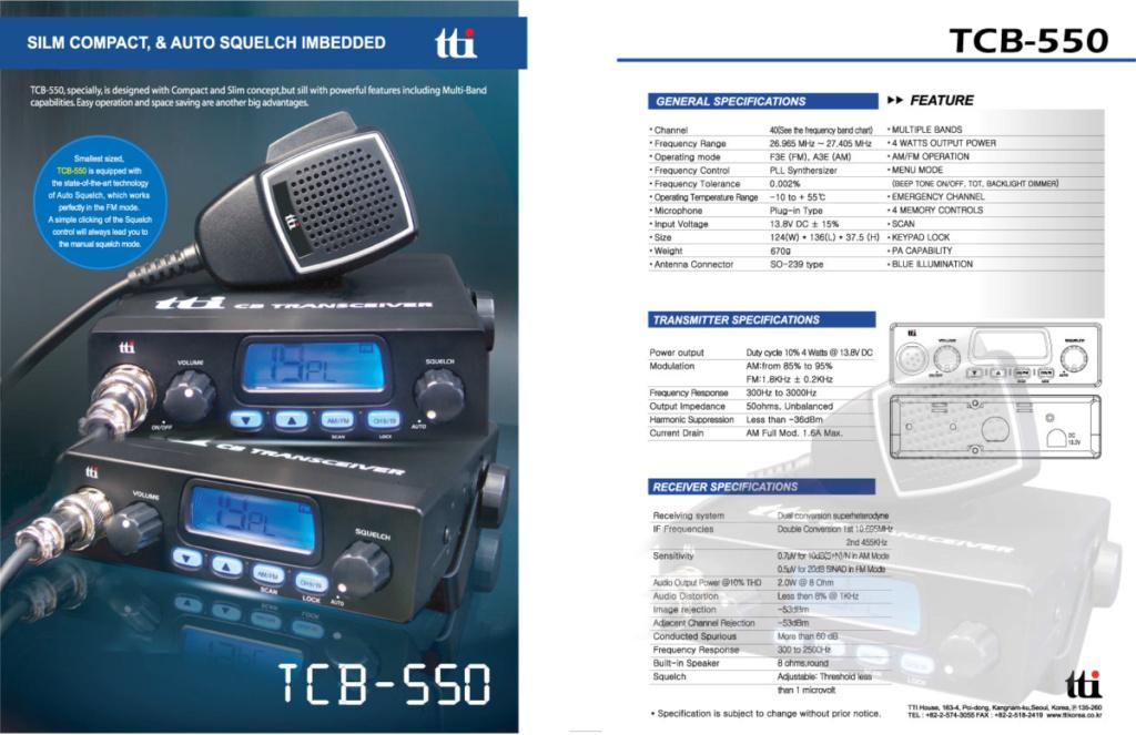 tti TCB-550 (Mobile) Captu866