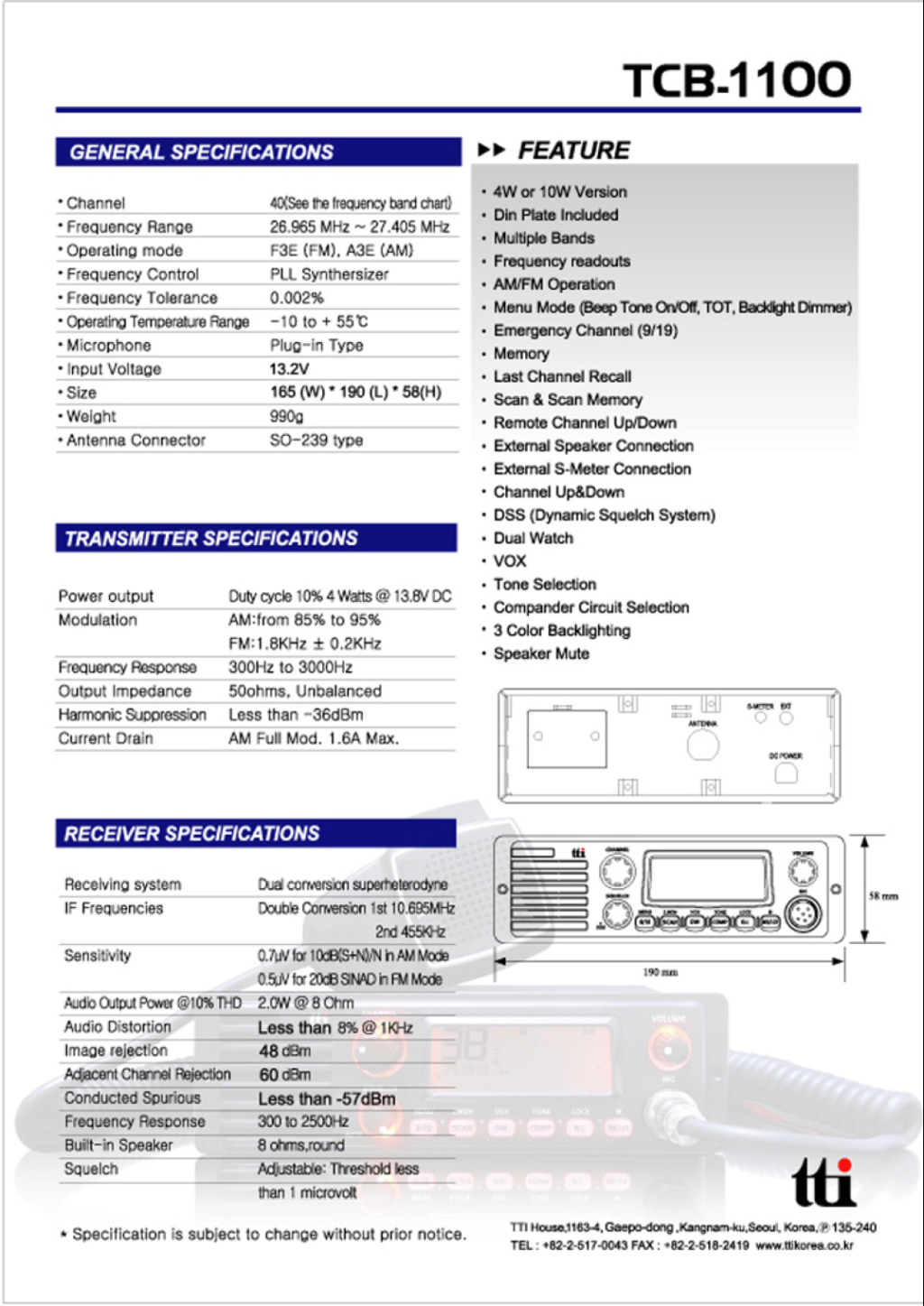 tti TCB-1100 (Routier) Captu879