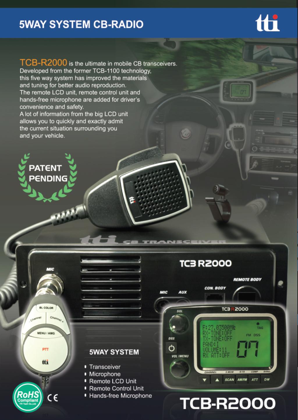 tti TCB-R2000 (Routier Camping-car) Captu881