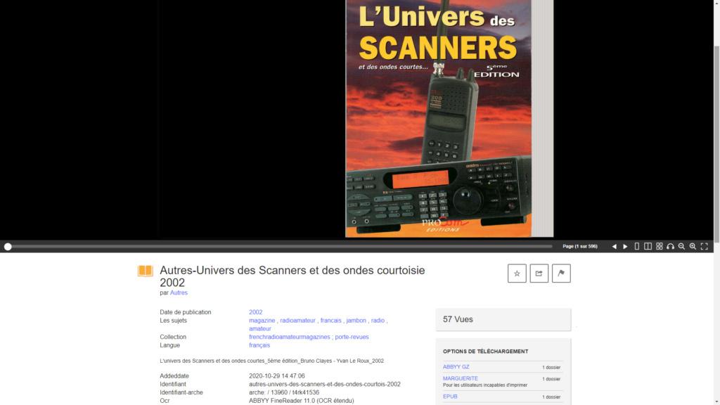 L'univers des scanners et des ondes courtes Captur23