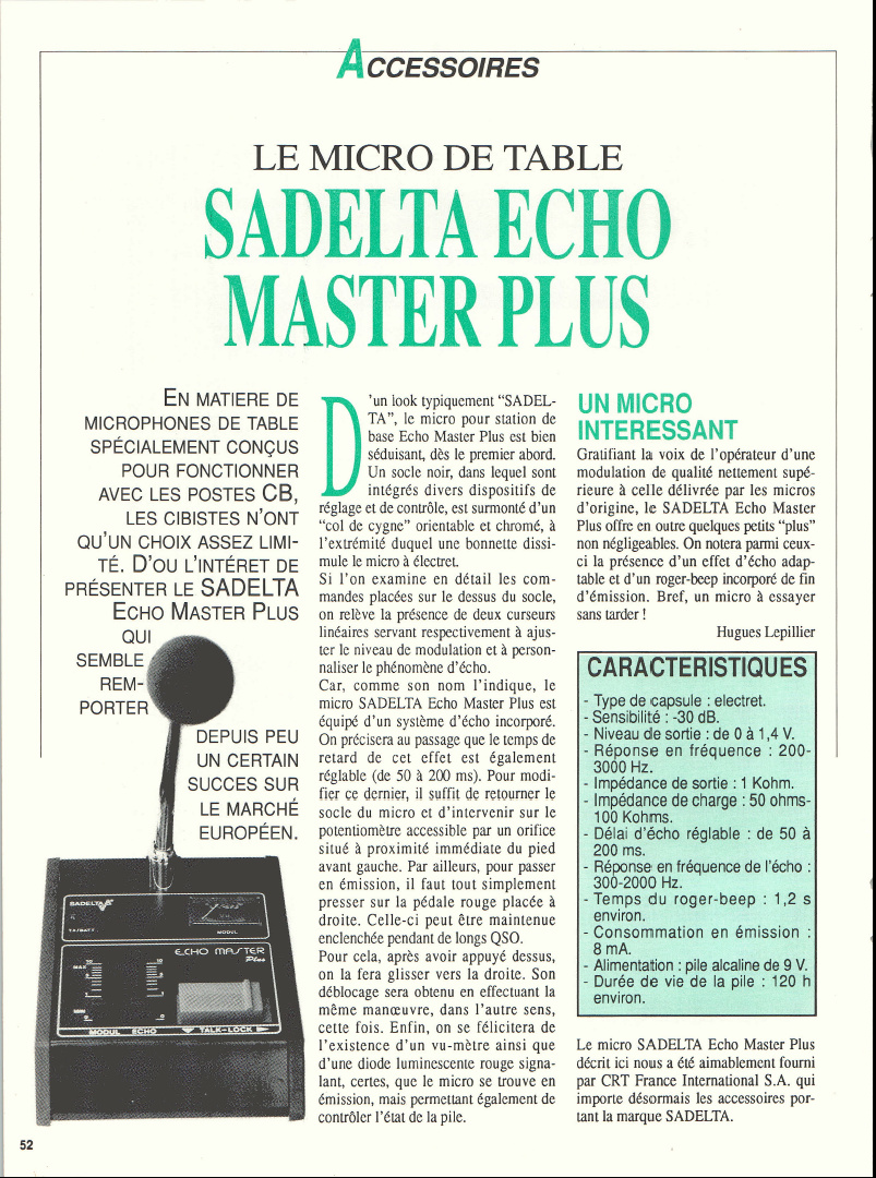 fixe - Sadelta Echo Master Plus (Micro de table) Captur32