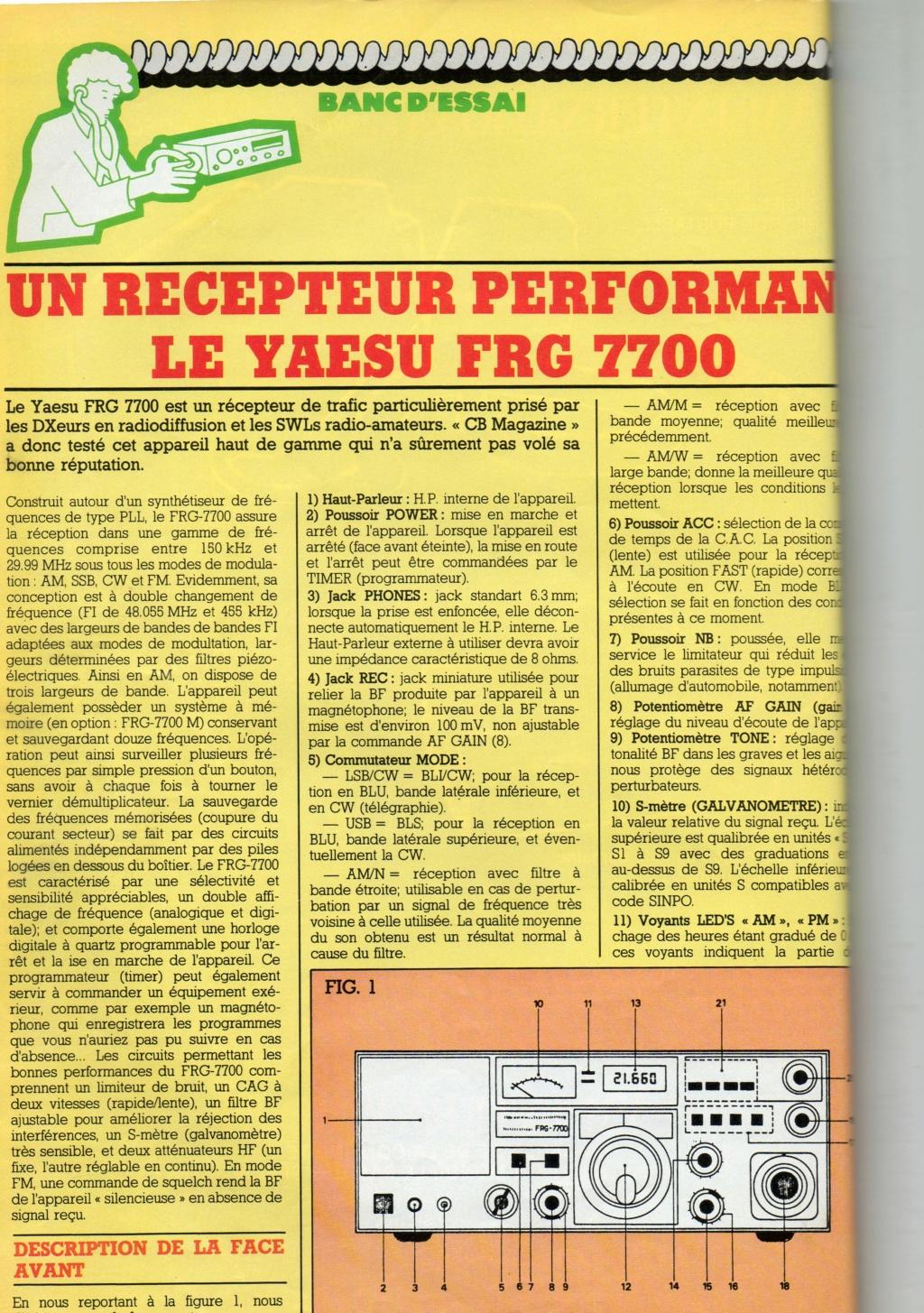 Yaesu FRG-7700 Chora203