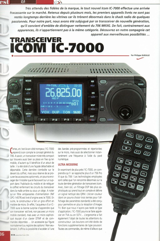 Icom IC-7000 Chora471