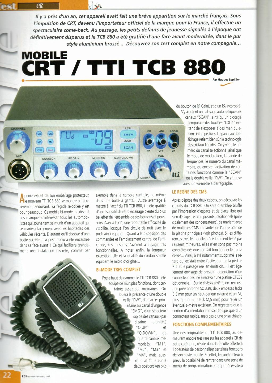 tti TCB-880 (Mobile Camping-car) Chora480