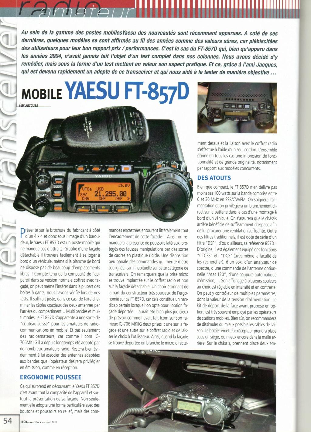 Yaesu FT-857D Chora486