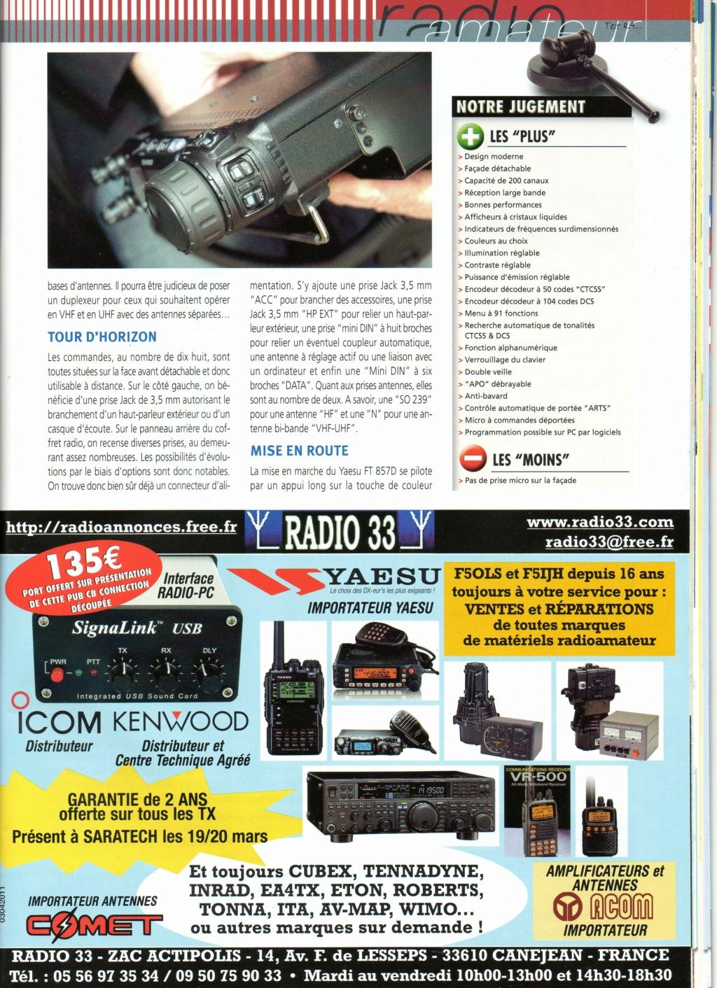 Yaesu FT-857D Chora488