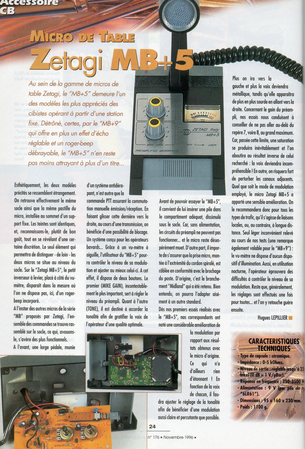 Zetagi MB+5 (Micro de table) - Page 2 Chora581