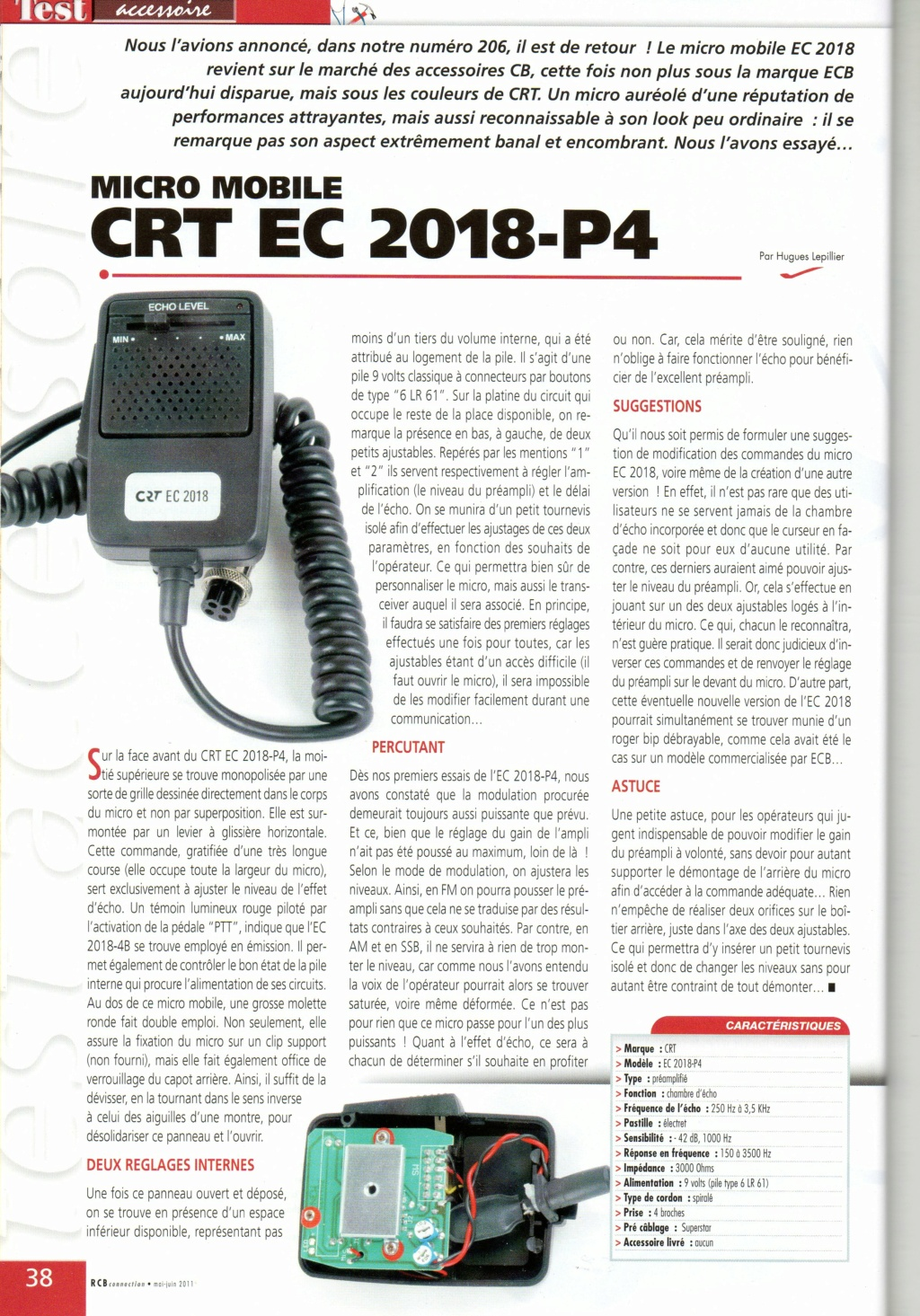 Micros - KM-2018 P4 & CRT EC-2018 P6 (ou P4 (Micros mobile) Chora585