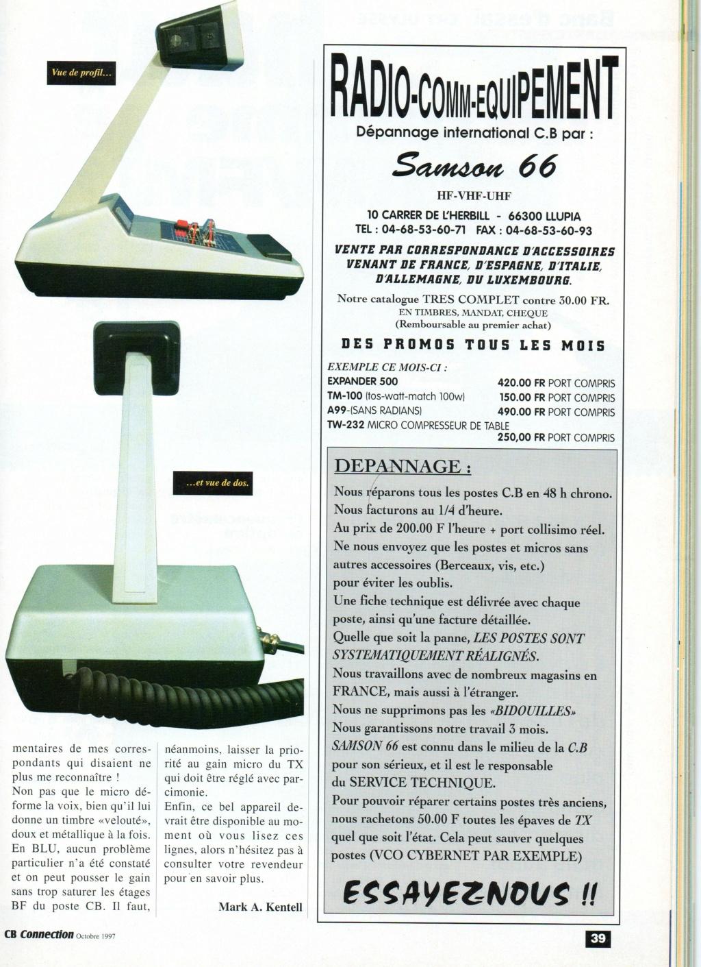 EuroCB - Turner Expander 500 (Micro de table) Chora586