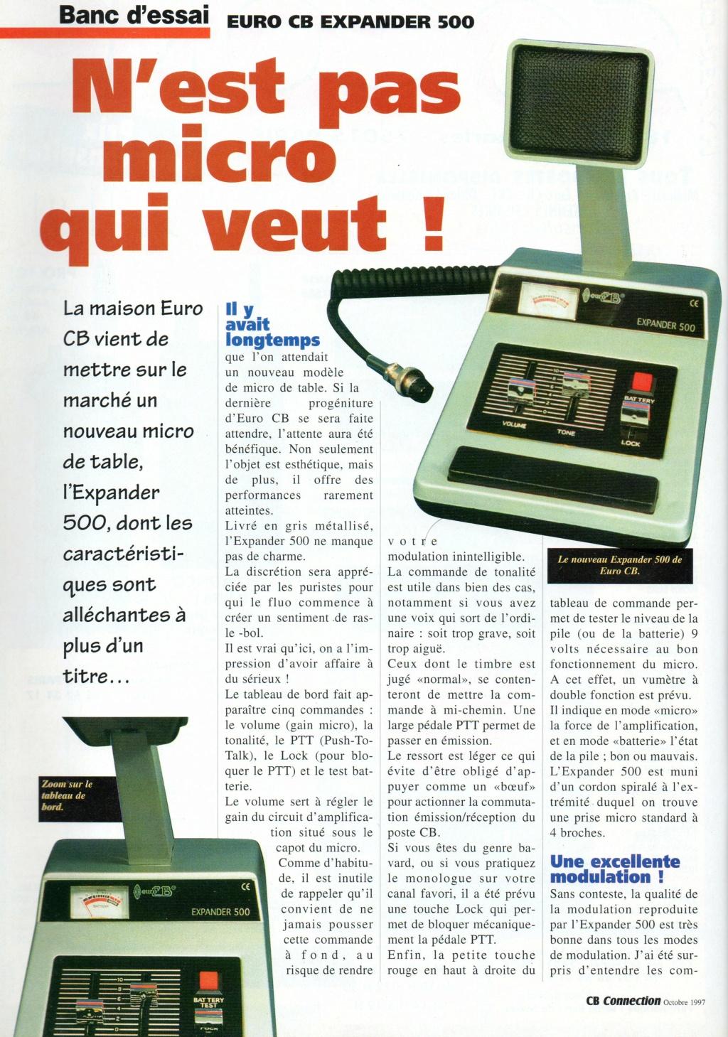 EuroCB - Turner Expander 500 (Micro de table) Chora587