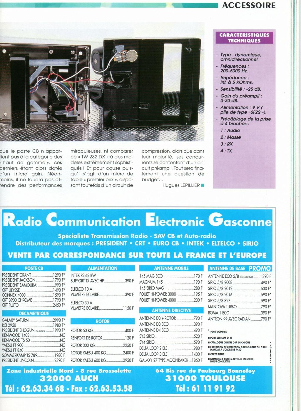 EuroCB TW232DX (Micro de table) Chora593