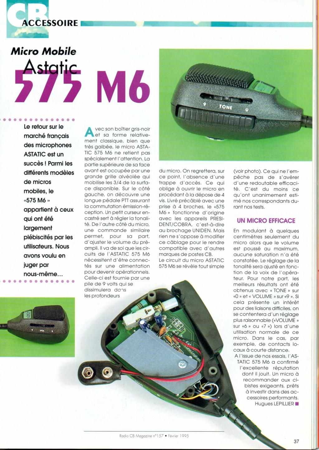Astatic 575 M6 (Micro mobile) Chora596