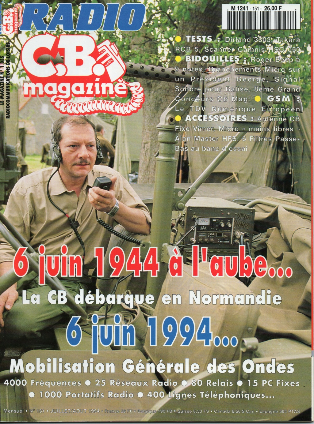 C.B. Magazine - Radio C.B. Magazine (Magazine (Fr.) - Page 11 Chora611