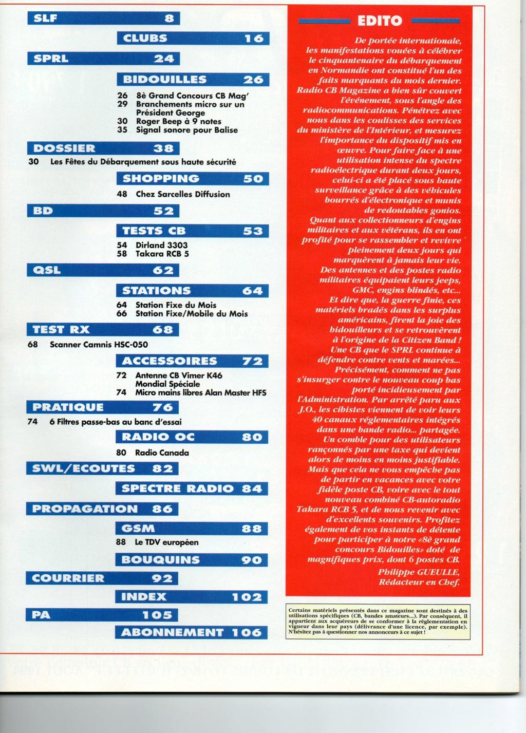 C.B. Magazine - Radio C.B. Magazine (Magazine (Fr.) - Page 8 Choral11