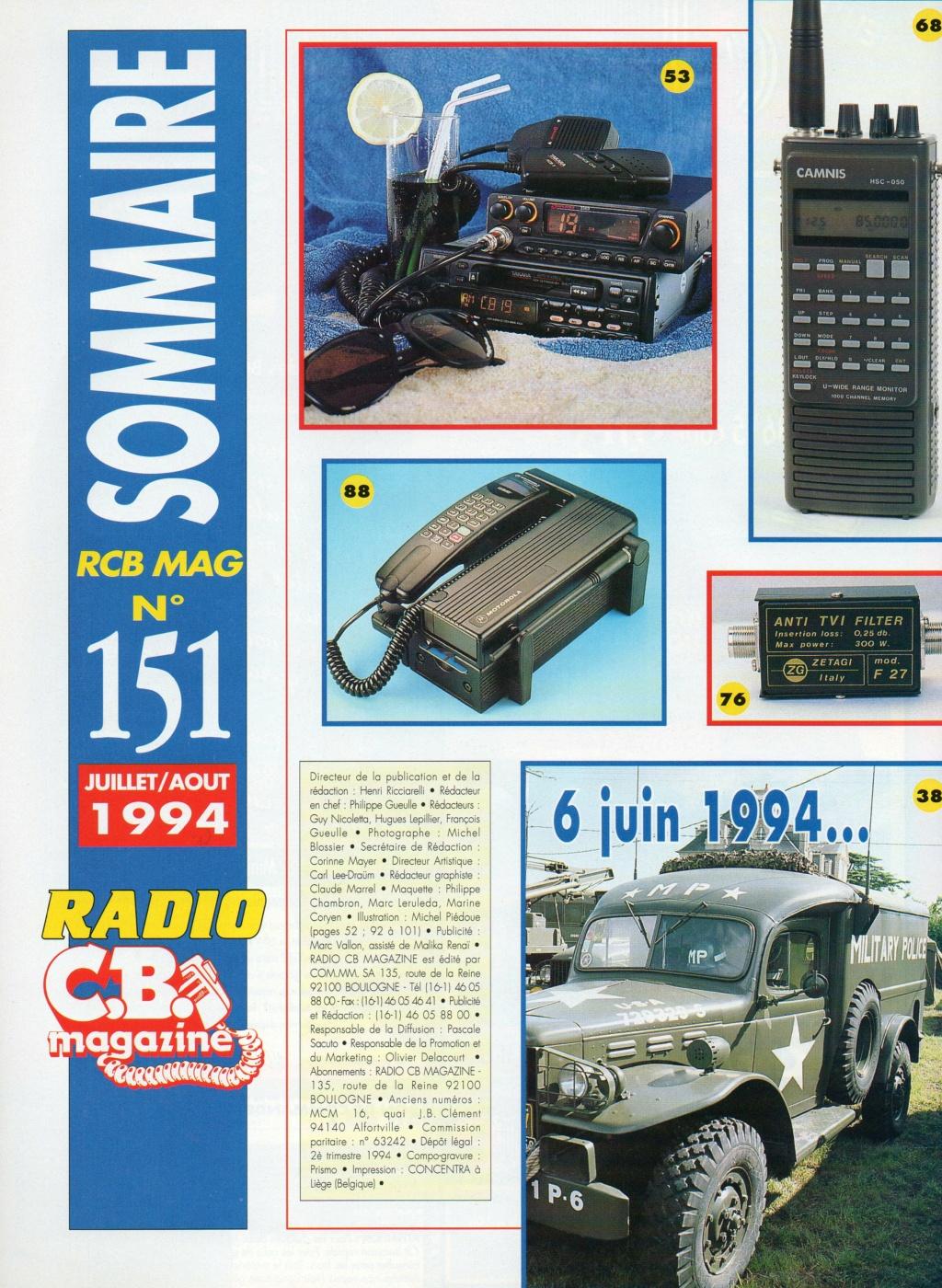 C.B. Magazine - Radio C.B. Magazine (Magazine (Fr.) - Page 8 Choral15