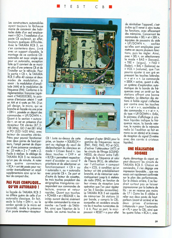 C.B. Magazine - Radio C.B. Magazine (Magazine (Fr.) - Page 8 Choral18