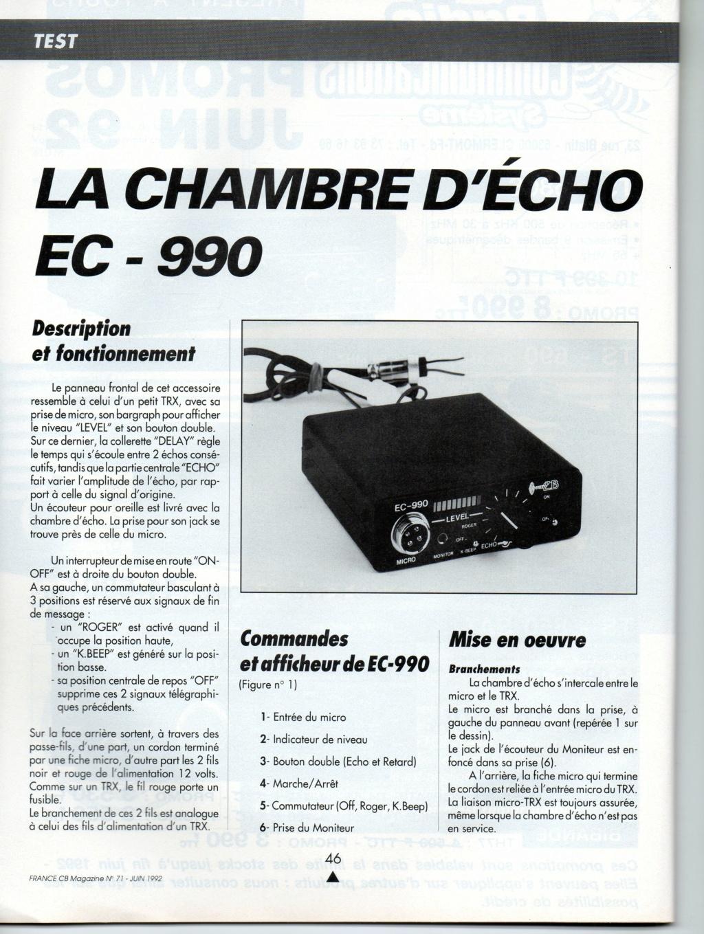 EuroCB EC-990P - EC-990 (Chambre d'écho) Img10911