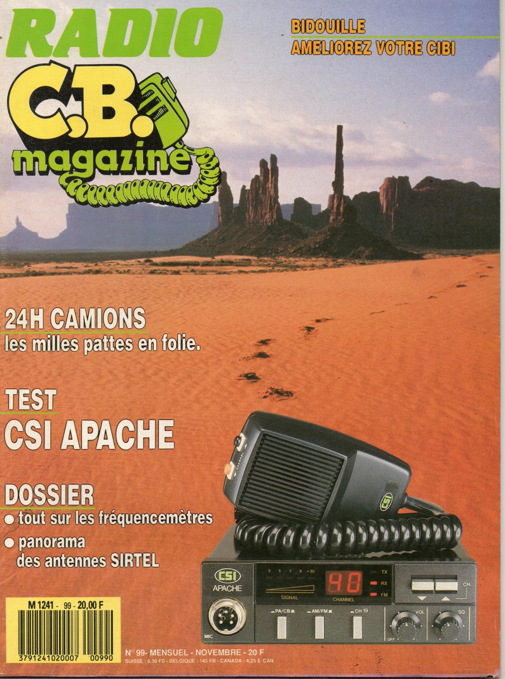 C.B. Magazine - Radio C.B. Magazine (Magazine (Fr.) - Page 12 Img33010