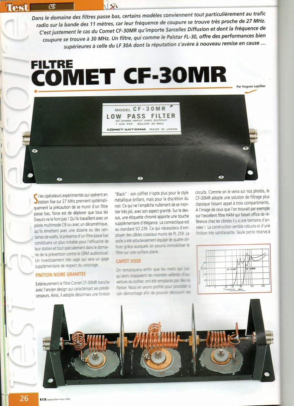 Passe-Bas - Comet Antenna CF - 50 MR (Filtre passe bas) Img60710