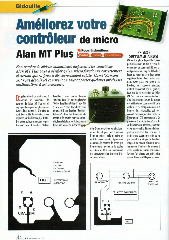 Alan MT PLUS Testeur Micro  Img75110