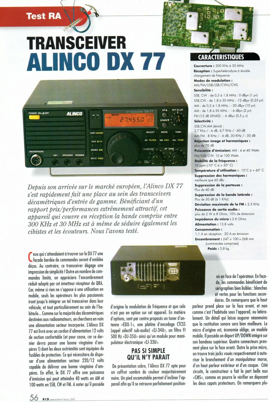 Alinco DX-77 Img77910